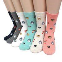 kaos kaki anak tanggung cowok cewek import totoro long socks supplier