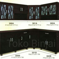Kitchen set bawah sudut IFM 301B - Toko Binjai
