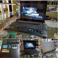 laptop seken Asus N43SL super gamer BODY ASUS ROG,AUDIO SUPER KERAS,