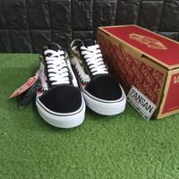 Sepatu VANS Old Skool X Bape Shark Camo Premium High Quality