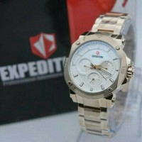 JAM TANGAN LADIES EXPEDITION E6606 STAINLIST GOLD