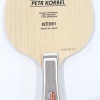 Butterfly Kayu Blade Pingpong Tenis Meja Butterfly Peter Korbel