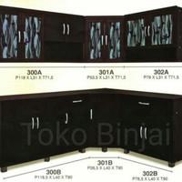 Kitchen set bawah 2P kayu padu IFM 302B - Toko Binjai