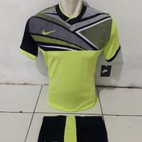 Kaos Futsal Setelan Bola Nike NY hijau
