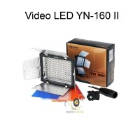 LED Video Light Yongnuo YN 160 II with Luminance Remote Control