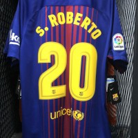 Jersey Original Fc Barcelona Home + S.Roberto season 2017/2018
