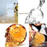 GL-Botol Skull Crystal Head Vodka Ukuran Besar 1000ml liquor whiskey