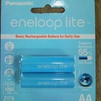 Batre / Batere / Baterai / Battery Sanyo Eneloop AA / A2 Lite