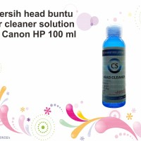 Pembersih head buntu printer cleaner solution Epson Canon HP 100 ml