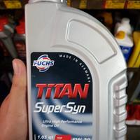 Oli Fuchs Titan Super Syn SAE 5W-30 API SL/CF Made In Germany 1 Liter