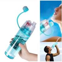New B Botol Minum Dengan Spray 600ml Plastik BPA Free Botol Air Kado