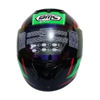 BMC Blade 200 #7 Helm Full Face - Black Green