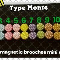 Bros Bross Monte Pin Magnet Hijab Cantik Jilbab Murah A Limited