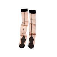 Stockings Retro Cuban Sheer Stocking Nude