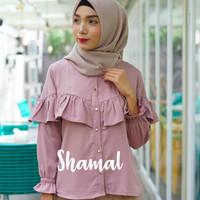 Baju Atasan Blus Wanita Muslim - Minzy Blouse