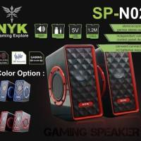 speaker gaming PC dan Laptop NYK SP-N02 speaker NYK super bass