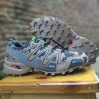 Sepatu Sneakers Adidas Salomon Army/Camo Tracking Premium Original