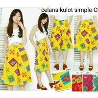 Celana Kulot Batik Simple
