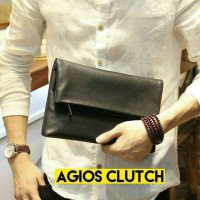 WSF4 Clutch dompet tas tangan pria impor ISHIYA AGIOS