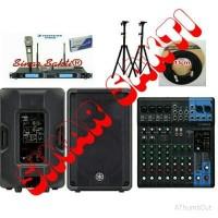 Harga paket sound system outdoor yamaha 15 inch original | Pembandingharga.com