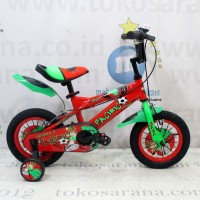 12in Pacific Avatar 2.0 BMX Sepeda Anak Laki-Laki Umur 2 - 4 Tahun