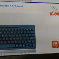 Mini Multimedia Keyboard Itech M-519 USB