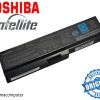 Baterai Batre Battery Laptop Toshiba Model PA3817U 1BRS Original Ber