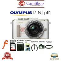 OLYMPUS EPL8 KIT 14-42 EZ (White) -Camera Mirrorless 16MP WIFI -PAKET