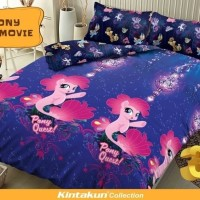 cuci gudang Sprei Kintakun D'luxe Uk.120 X 200 Motif Pony The Movie