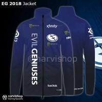 Jaket Evil Geniuses 2018 | Jacket Gaming EG Dota 2 Dota2 Gaming GGWP