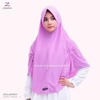Hijab Instan Daily Khimar ZAWAYA HIJAB - SALAMAH (S/M/L/XL/2XL/3XL/4XL