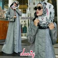 promo Gamis Wanita SAMOSIR DRESS Busana Muslim By Doniq wanita