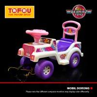 Mainan Anak Mobil Dorong Lokal Jeep Barbie White Murah