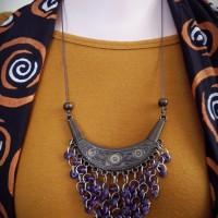 Harga kalung etnik kalung cantik motif tradisional   Pembandingharga.com