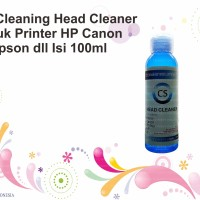 Head Cleaning Head Cleaner Untuk Printer HP Canon Epson dll Isi 100ml