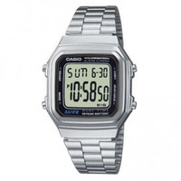 Casio Original A178WA-1A / A-178WA-1A - Unisex - Digital - Stainless