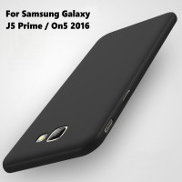 New Casing HP Slim Silicone Matte Soft Samsung A3 A7 2017 J5 J7 Prime