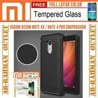 New Casing HP ipaky carbon xiaomi redmi note 4x note 4 snapdragon