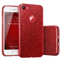 New Casing HP GLAM GLITTER iPhone 5 5s SE 6 6s 6 Plus 7 7 Plus 8 8Plu