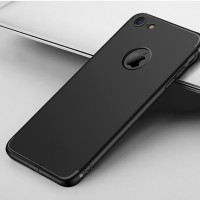 New Casing HP iPhone 7 7 Plus 6 6s Slim Silicone Black Premium