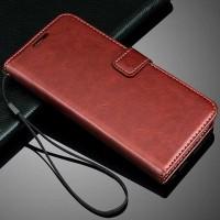 Casing Kulit HP Oppo F1s Selfie A59 A1601 Flip Cover