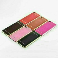 Casing Kulit HP Oppo R7 R7 Lite TPU Casing Cover Soft Silicone