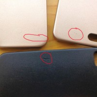 Casing Kulit HP OBRAL Premium Iphone 4 4s Apple KONDISI 85 95