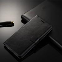 Casing Kulit HP Sony Xperia Z2 Flip Cover Wallet Hard Soft Case