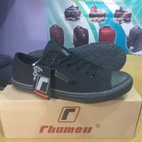 MURAH Sepatu Sekolah Rhummel Original Black