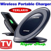 Fast Charge Wireless Charger Stand Samsung Galaxy N 5 S6 S7 Edge OEM