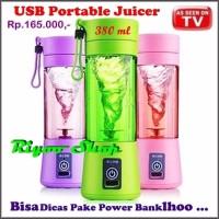 Blender Mini Juicer USB Portable Rechargable Electric Juice 1 Tabung