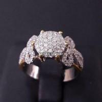 TER MURAH cincin berlian emas putih cincin diamond berlian banjar A1
