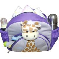 Baju Anak Tas Bayi Snobby Medium Saku Aplikasi Boneka Giraffe Series