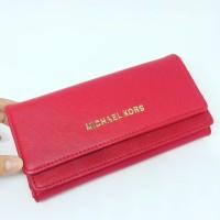 Aneka Grosir Dompet Wanita Branded Cewek Murah, Mk Double Flip Wallet